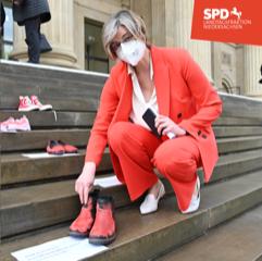 Aktion Rote Schuhe