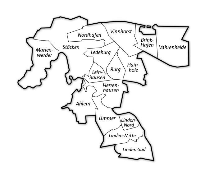 Der Wahlkreis 26 | Hannover-Linden